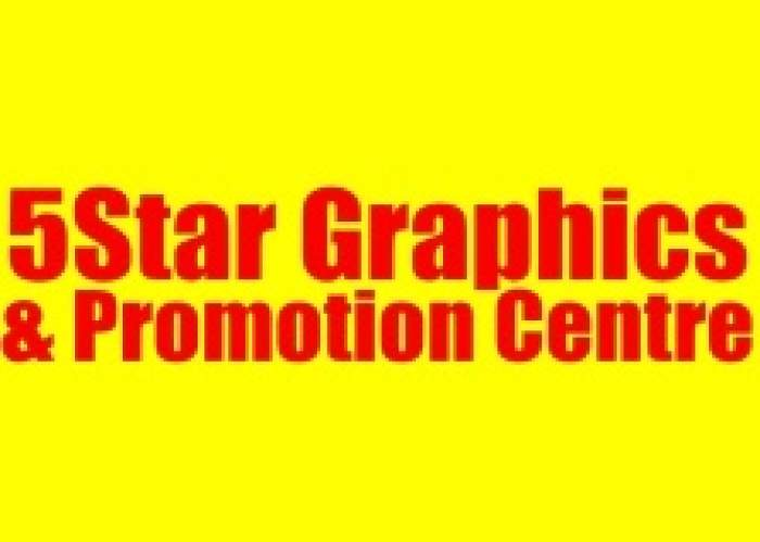 5 Star Promotions & Graphics Center logo