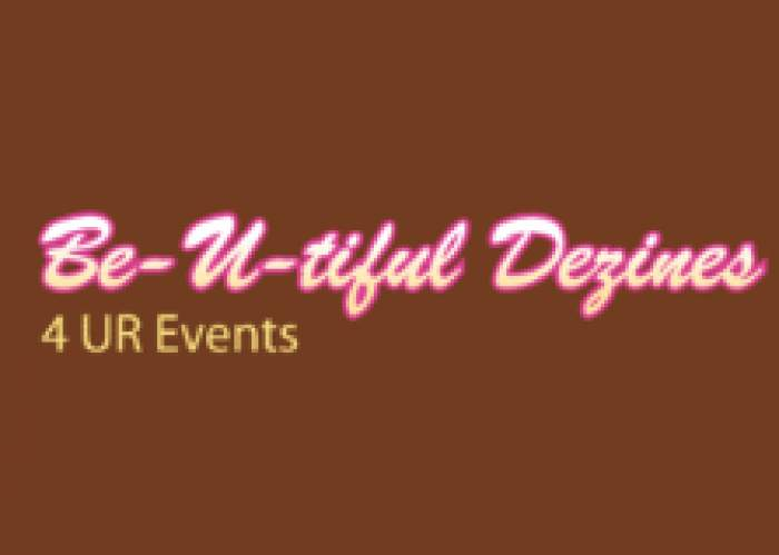 Be-U-tiful Dezines 4 UR Events logo