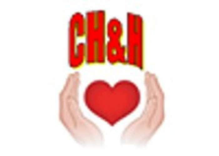 Caring Hands and hearts logo