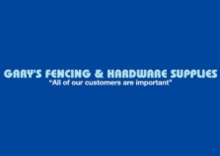 Gary's Fencing & Hardware Supplies logo