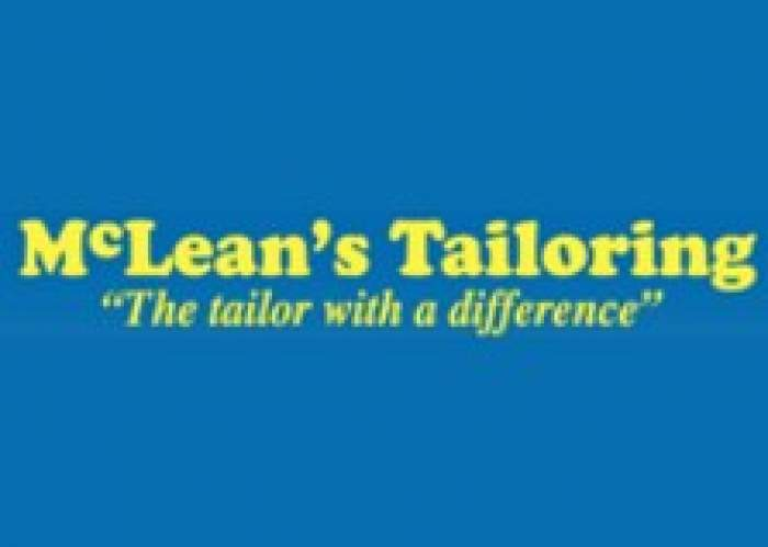 McLean's Tailoring With A Difference logo