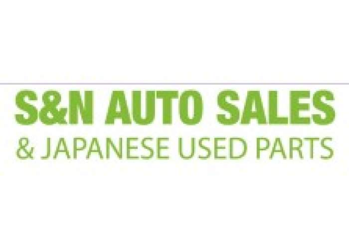 S & N Auto Sales & Japanese Used Parts logo