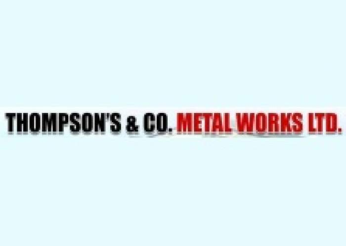 Thompson's & Co Metal Works logo