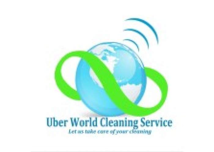 Uber World Cleaning Services logo