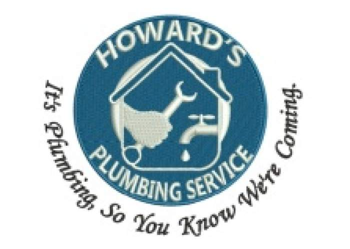 Howard's plumbing service logo