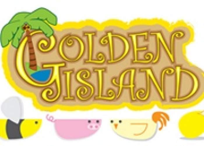 Golden Island Honey & Farms logo
