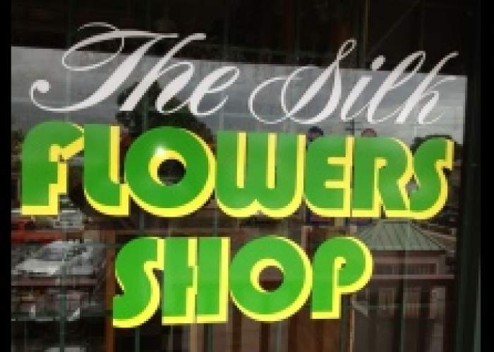 The Silk Flowers Shop logo