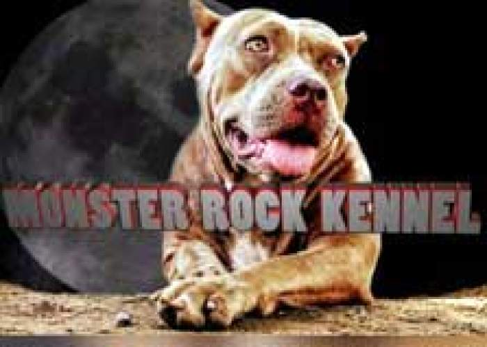 Monster rock kennel logo