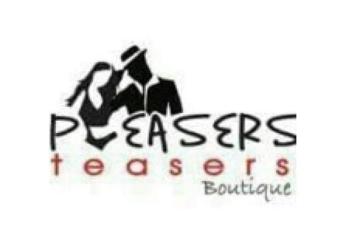 Pleasers-Teasers Boutique logo