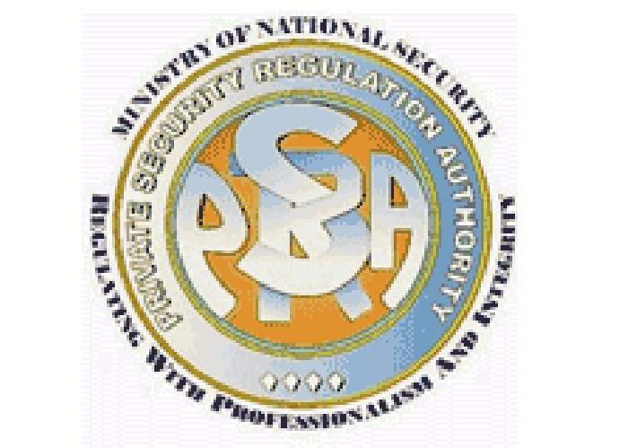 Private Security Regulation Authority logo