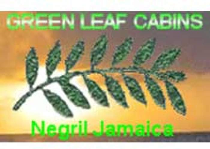 Green Leaf Cabins logo