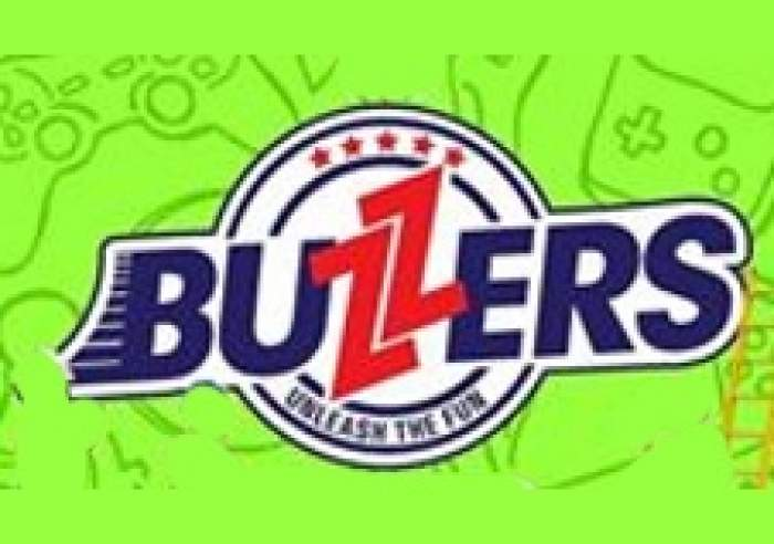Buzzers Sports & Arcade Lounge logo