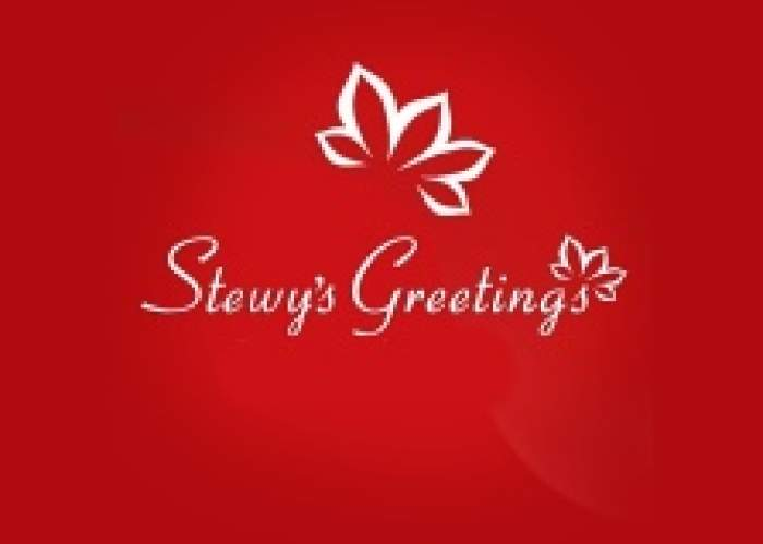 Stewy's Greetings logo