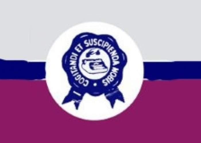 St. Monica's College logo