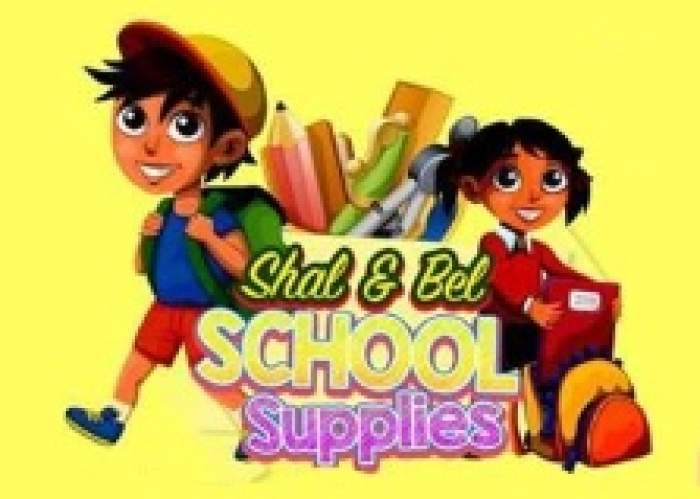 Shal & Bel School Supplies logo
