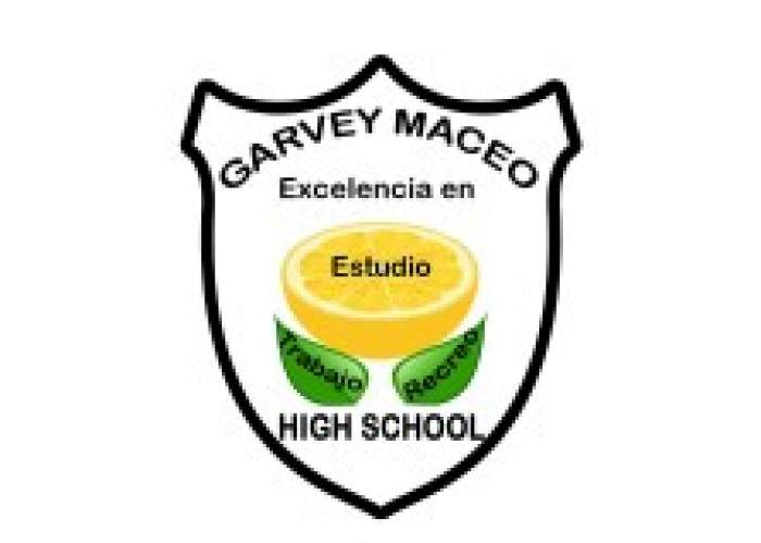 Garvey Maceo High School logo