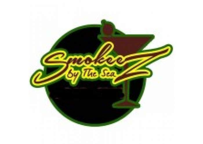 Smokeez by the Sea Bar and Grill logo