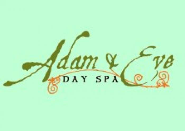 Adam and Eve Day Spa logo