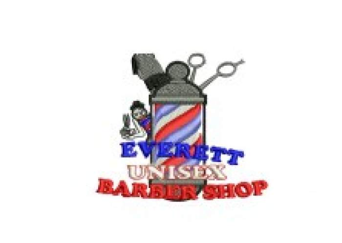 Everett's Unisex Barber & Salon logo