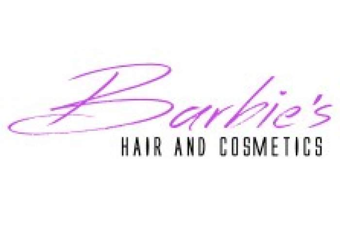 Barbie's Hair & Cosmectics logo