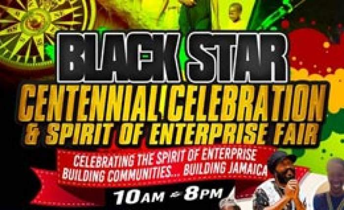 100th anniversary of Black Star Kingston June 28 to 29 logo