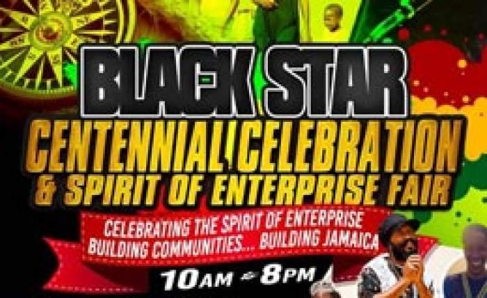 100th anniversary of Black Star Kingston June 28 to 29 logo