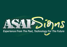Asap Signs logo