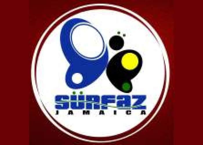 Surfaz Jamaica logo
