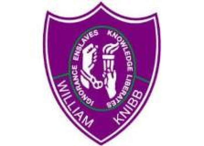 William Knibb Memorial High School  logo