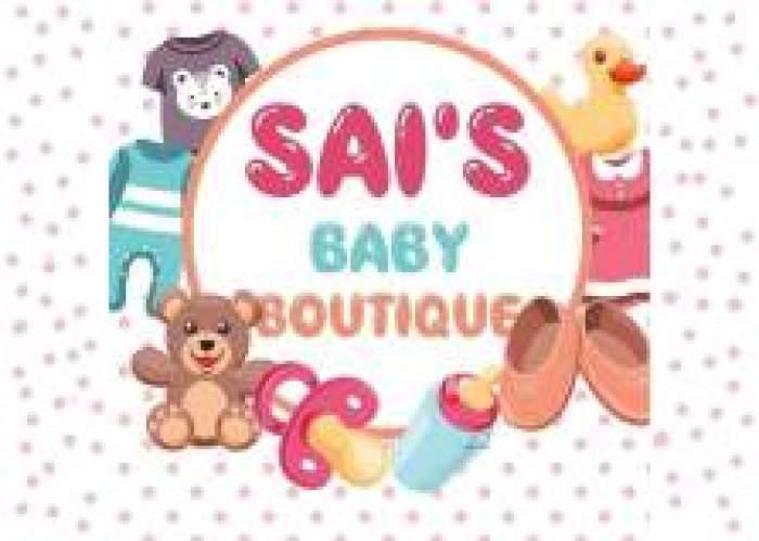 Sai's baby boutique logo