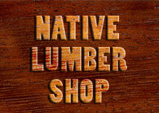 Native Lumber Shop logo