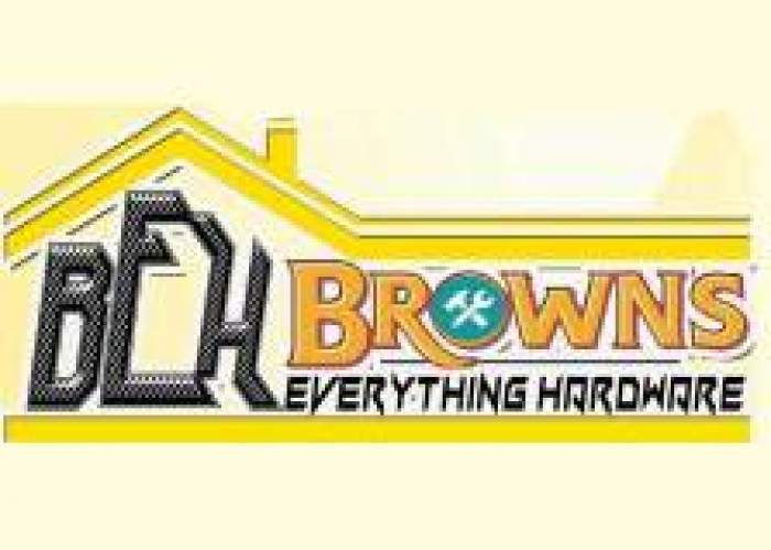Browns Everything Hardware logo