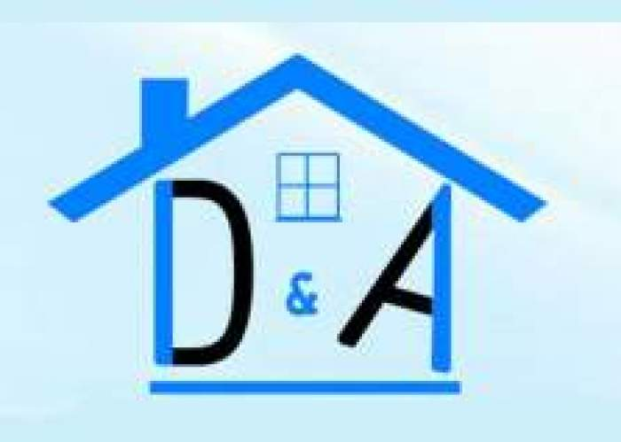 D&A Construction Jamaica logo