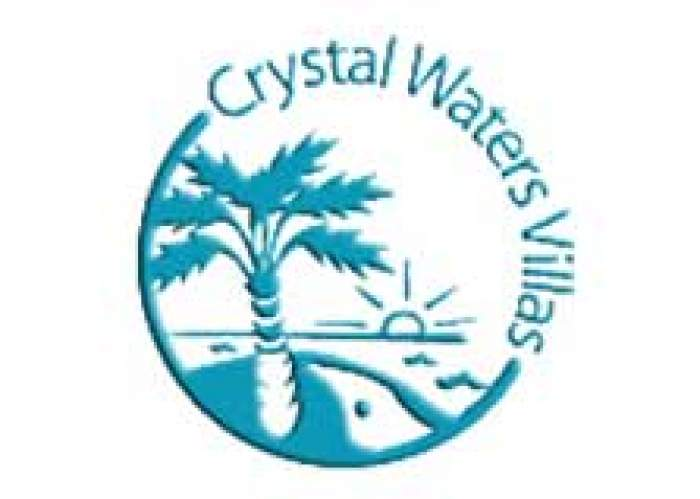 Crystal Waters Villa logo