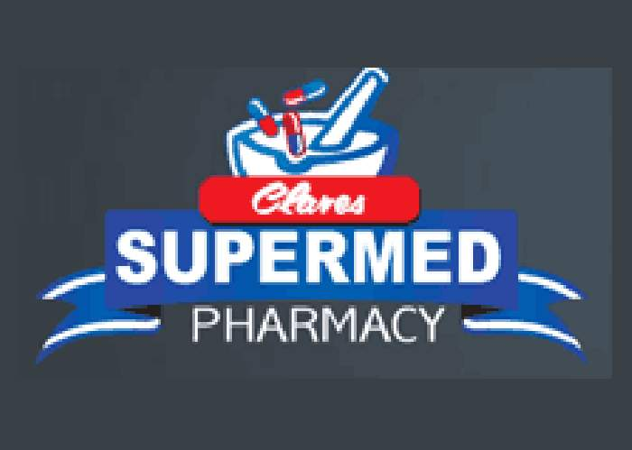 Clare's Supermed Pharmacy logo