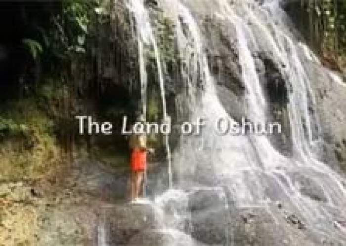 The Land of Oshun logo
