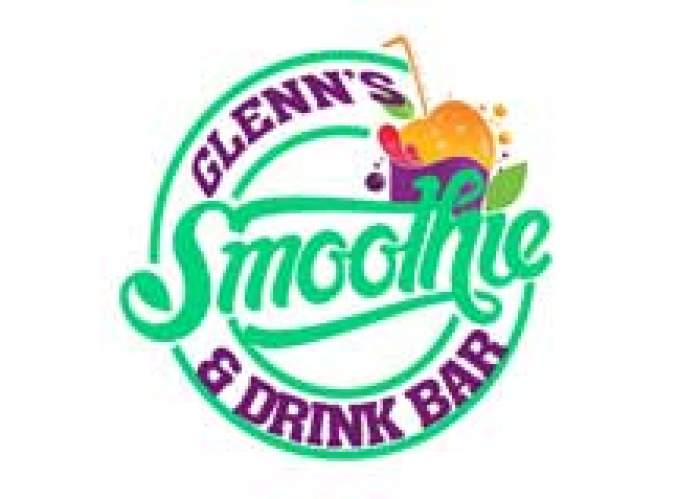 Glenn's Smoothie & Drink Bar logo