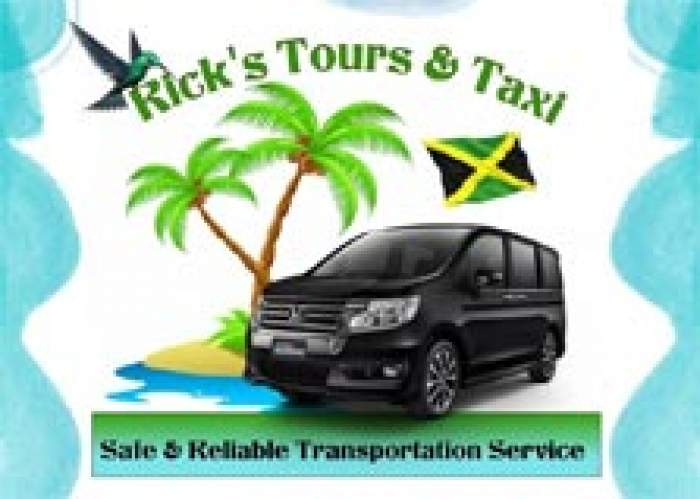 Rick's Tour and Taxi Service logo