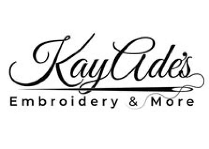 KayAde's Embroidery & More  logo