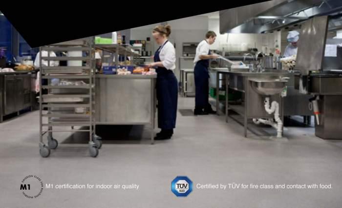 Industrial Kitchen Floor