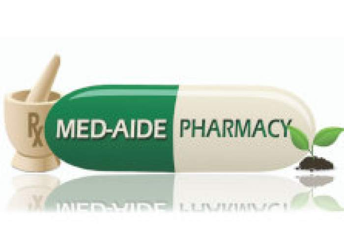 Med-Aide Pharmacy logo