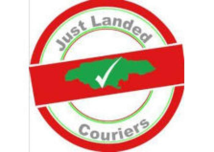 Just Landed Couriers logo