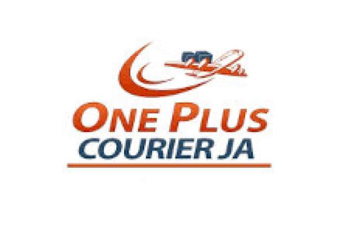 One plus Courierja logo