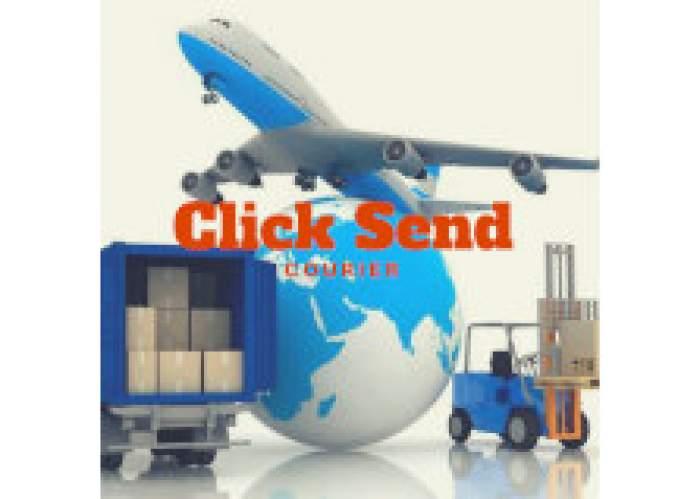 Click Send Courier logo