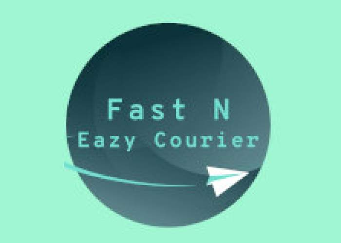 Fast N Eazy Courier logo