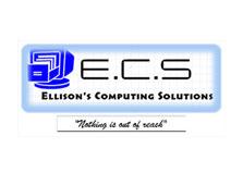 ECS Ellison's Computing Solutions logo