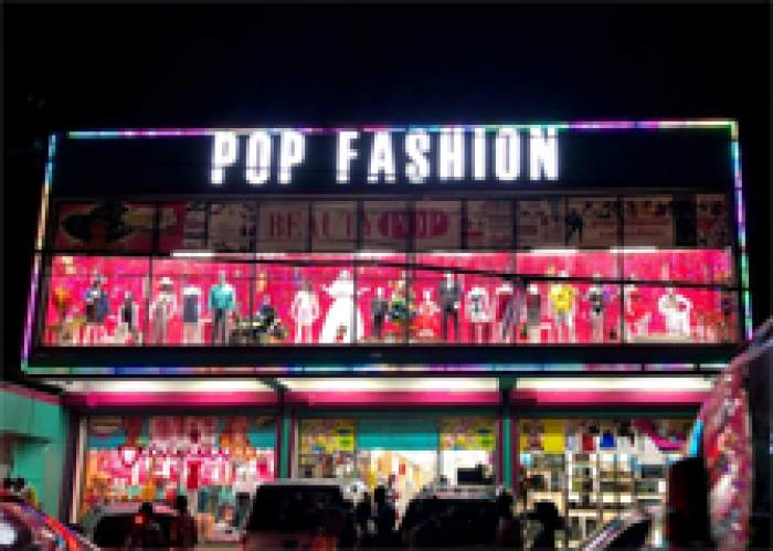 Pop Fashion logo