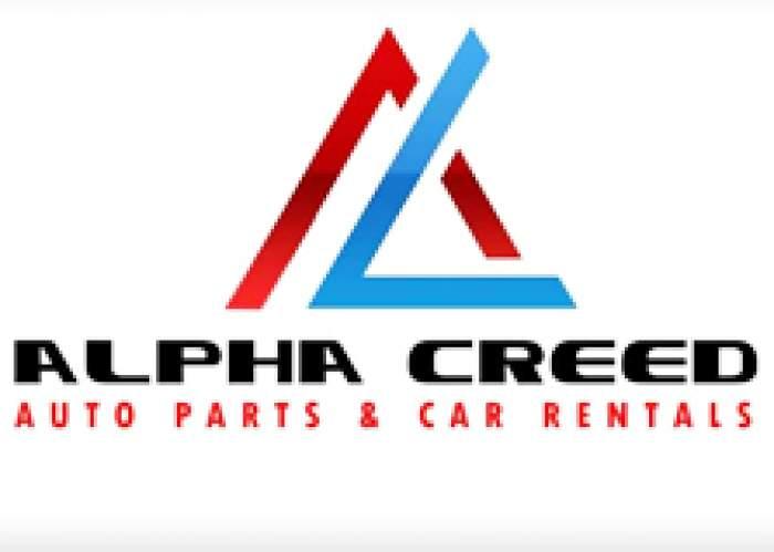 Alpha Creed Auto Parts & Car Rental logo