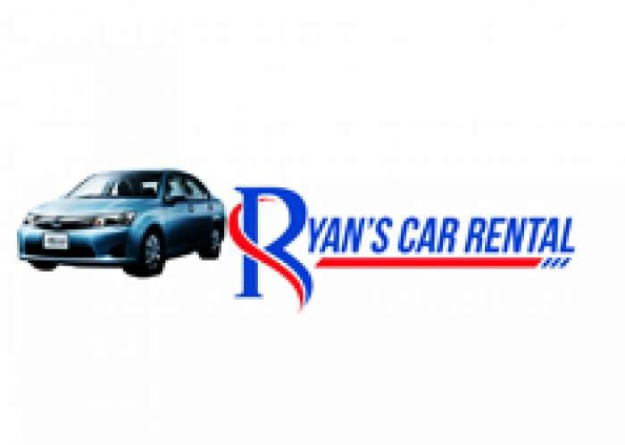 Ryan's car Rental Service logo