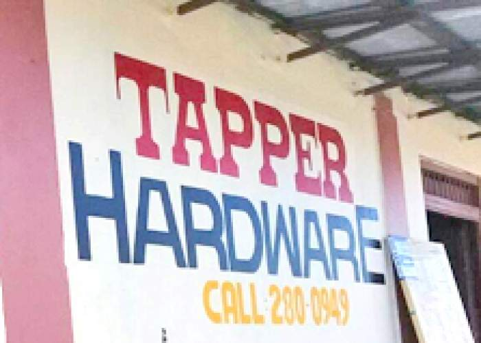 Tappers Hardware logo